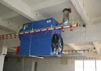 Suspended Hot Air Generator